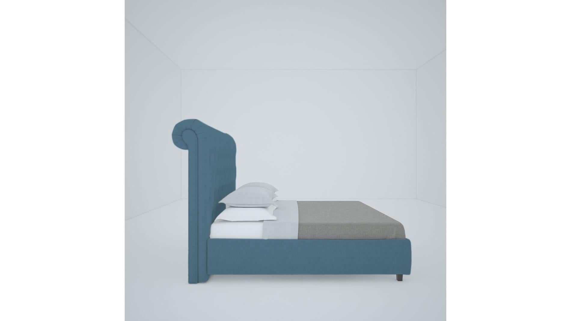 Кровать Sweet Dreams 180х200 Велюр Морская волна Р