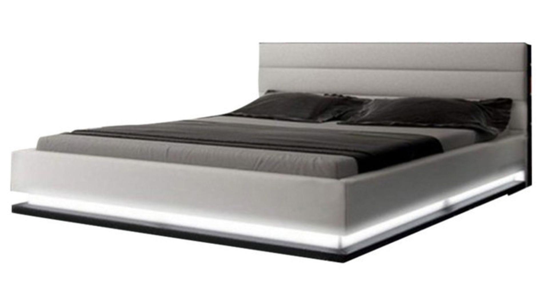 Кровать Brooklyn 160х200 Светло-Серый Велюр