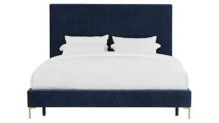 Кровать Mark 160х200 Синий Р