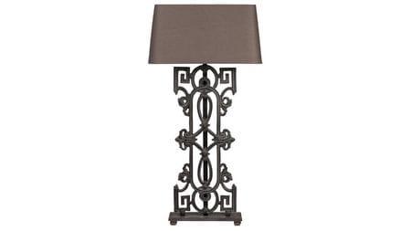 Настольная лампа Greek Key Baluster Table