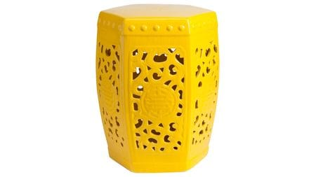 Керамический столик-табурет Design Stool Yellow
