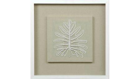"""Панно на стену """" Листья из бисера2 """" 60*60 см."""