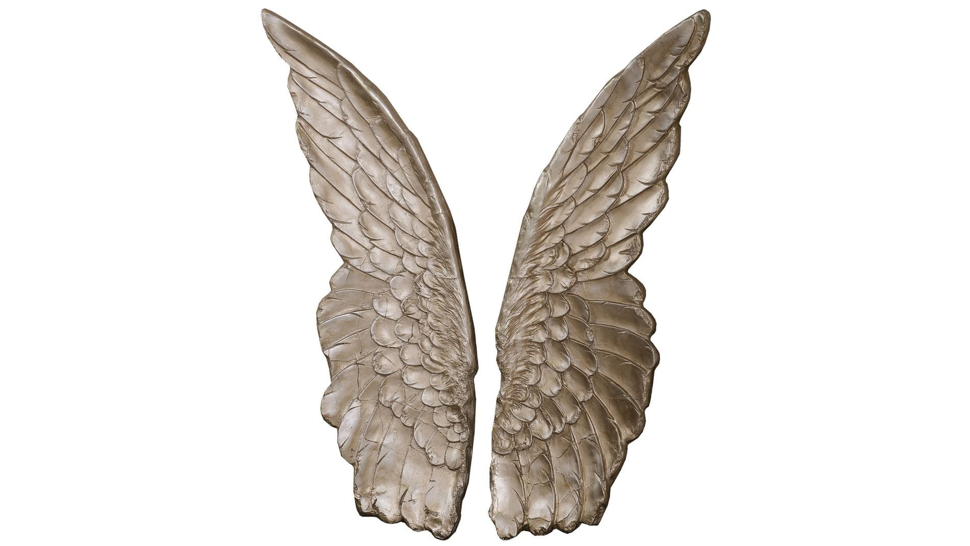 "Панно на стену "" Крылья шампань "" 103*75 см."