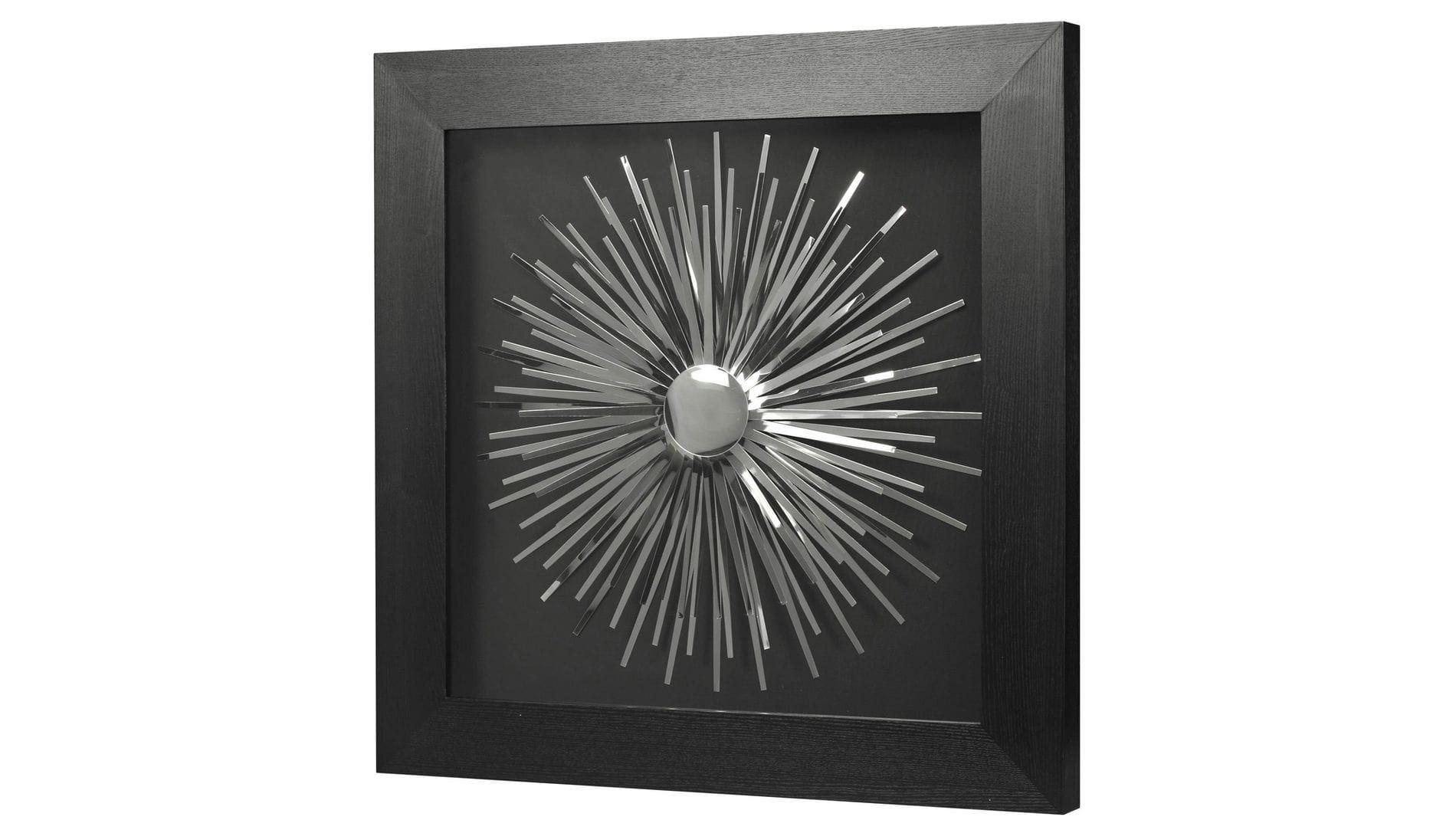 """Настенное панно """" Металлический декор 2 """" 90*90 см."""
