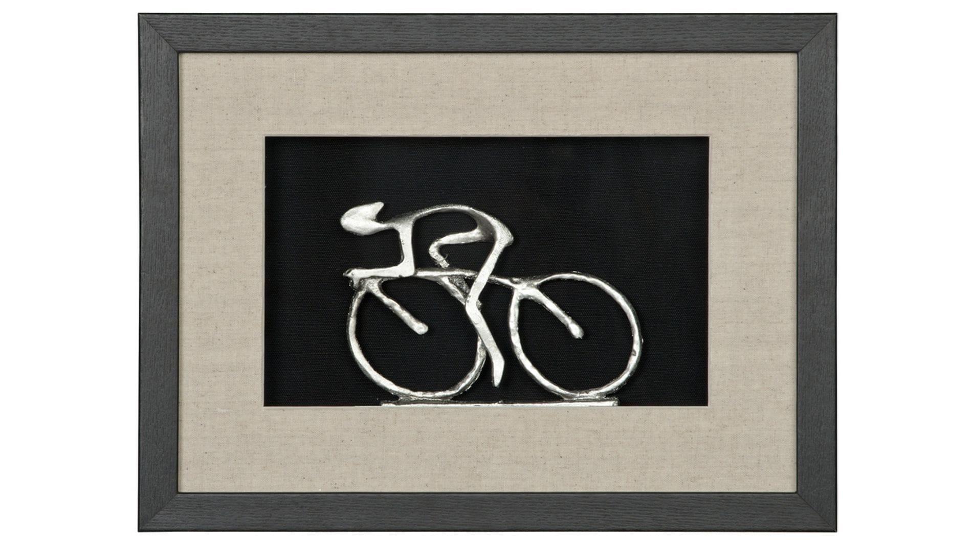 """Панно для декорирования стен """" Велосипедист 1 """" 40*30 см."""