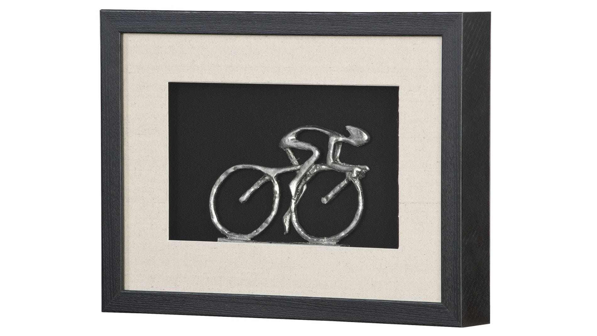 "Панно на стену "" Велосипедист 2 "" 40*30 см."