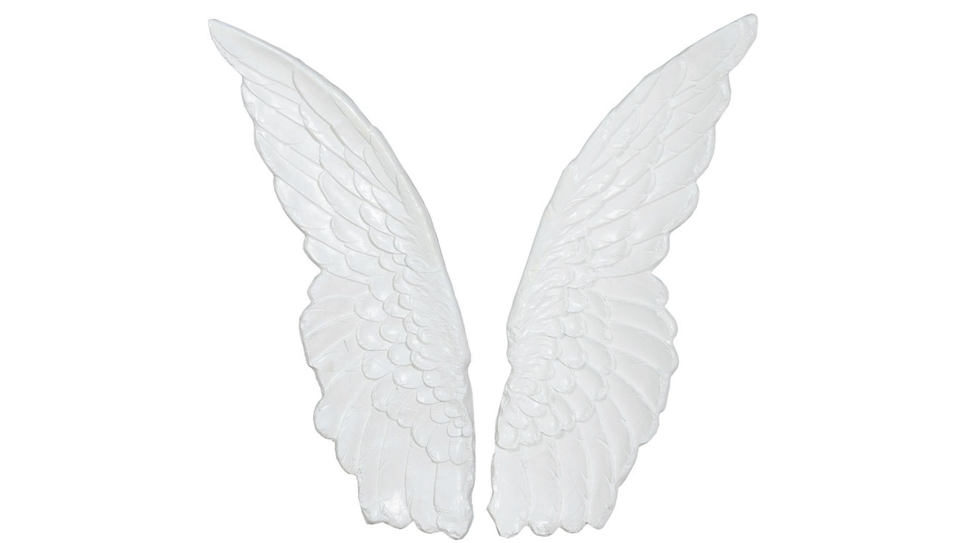 """Настенное панно """" Крылья белые """" 103*75 см."""