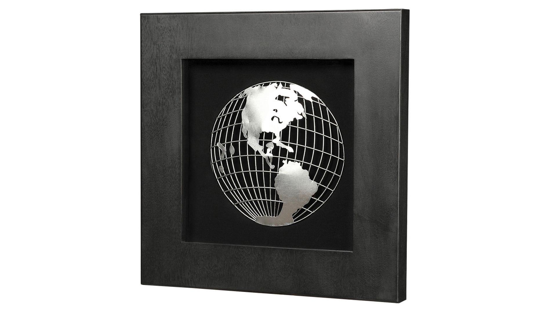 """Панно для декорирования стен """" Глобус1 """" 60*60 см."""