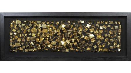 """Панно для декорирования стен """" Золотые грани """" 160*60 см."""