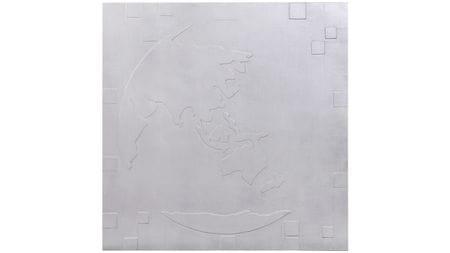 """Настенное панно """" Карта мира1 """" 90*90 см."""
