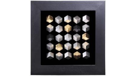 """Панно на стену """" 25 кубов """" 60*60 см."""