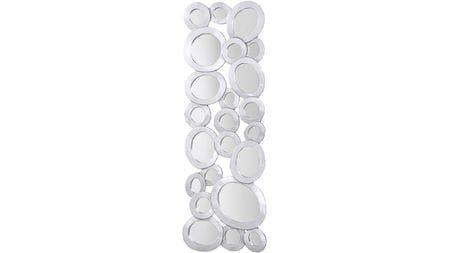 """Панно для декорирования стен """"                     Кольца с зеркалам """" 40*116 см."""