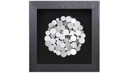 """Панно для декорирования стен """" Монеты круг """" 90*90 см."""
