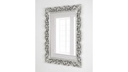 Зеркало в раме Бергамо taiwan silver
