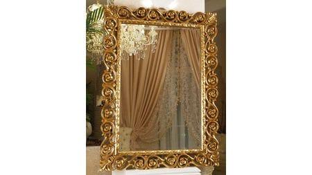 Зеркало в раме Бергамо 20C. Gold/8