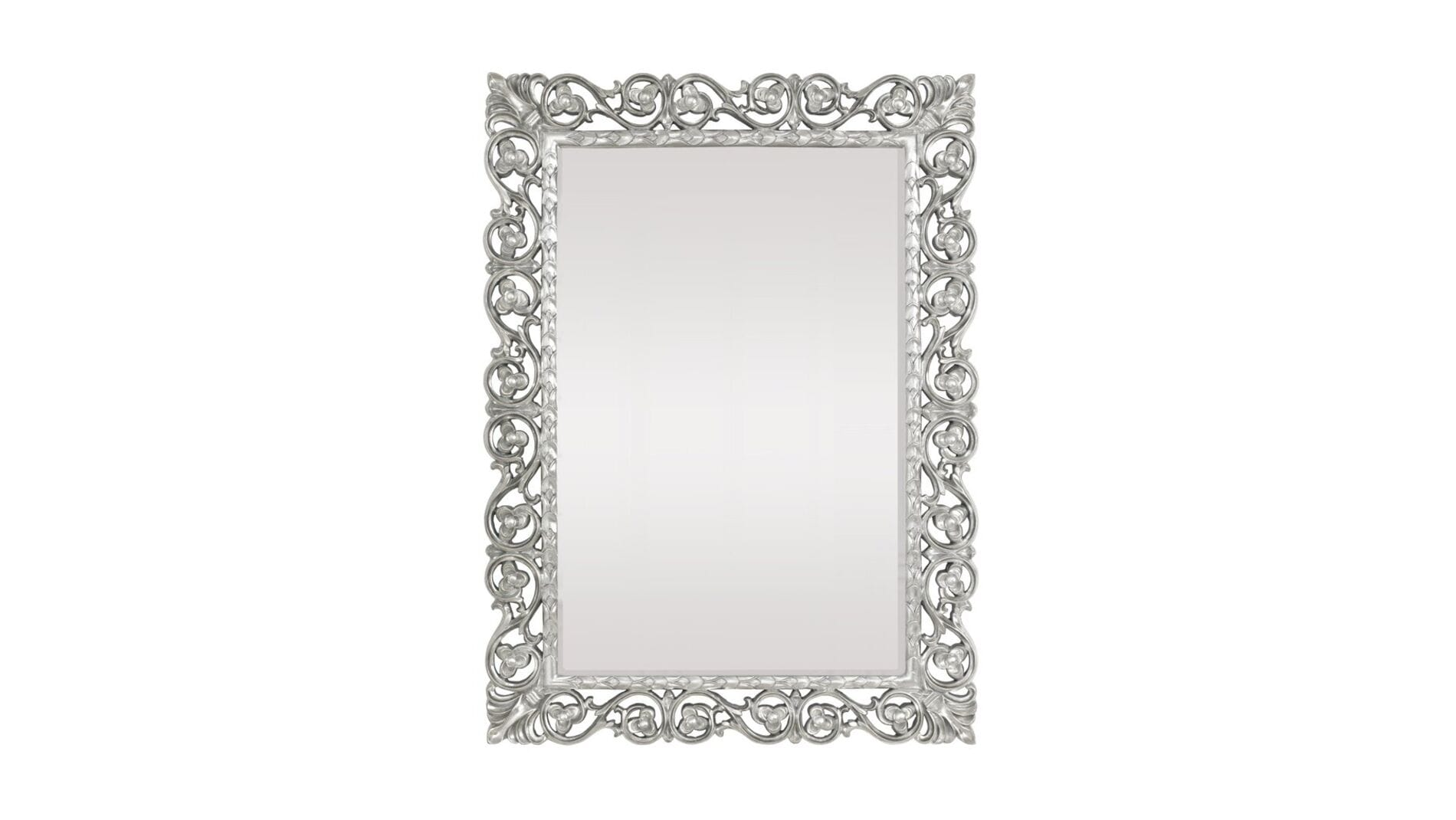 """Зеркало в раме """"Бергамо"""" taiwan silver"""