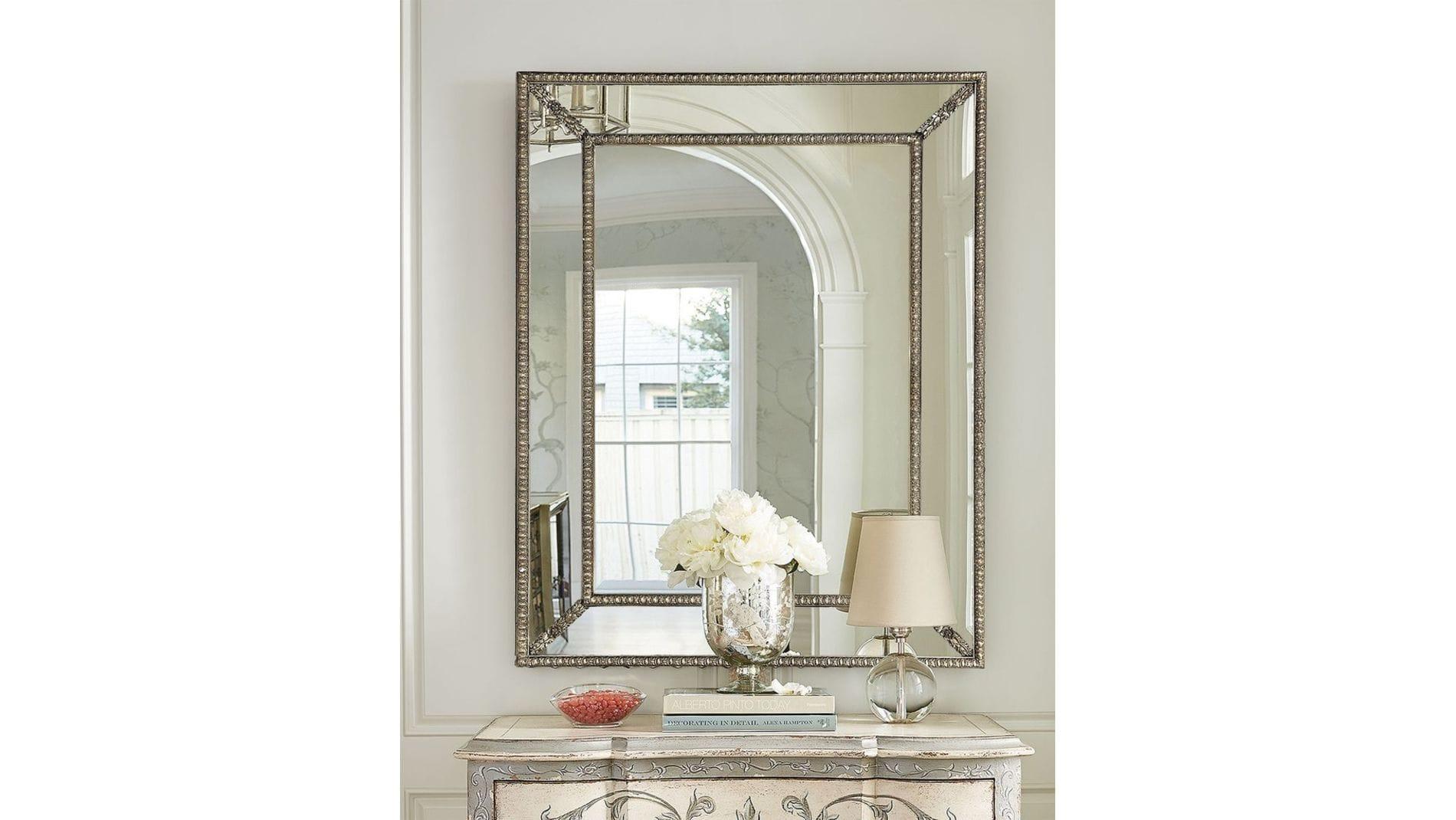 "Зеркало ""Джонатан"" Florentine silver/19"