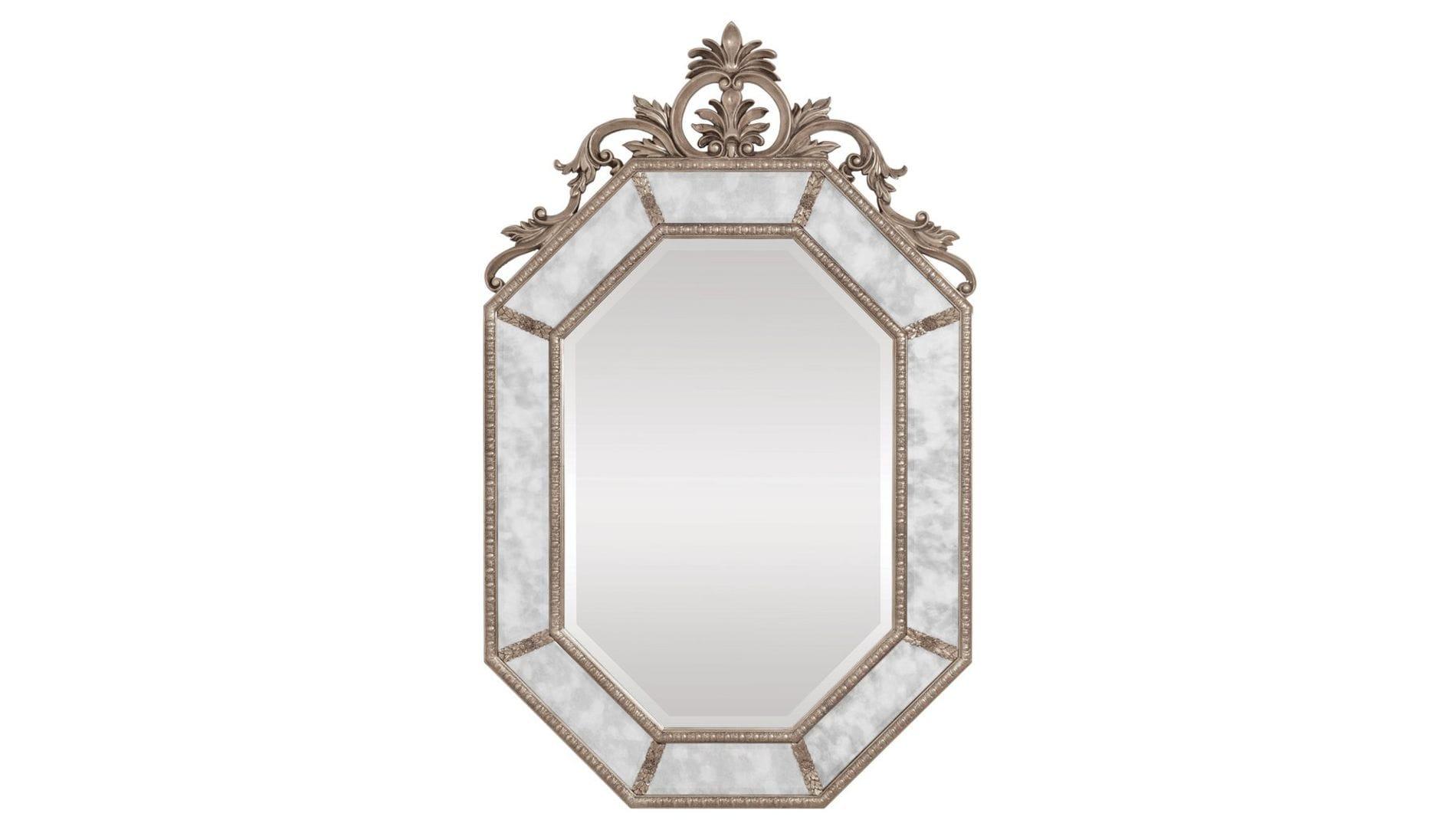 "Зеркало в раме ""Лидс"" Florentine Silver/19"