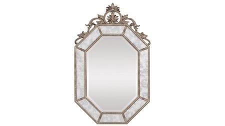 Зеркало в раме Лидс Florentine Silver/19