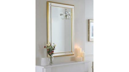 Зеркало Дорсет 20С. Gold/08