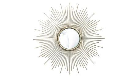Зеркало в раме Брук Серебро