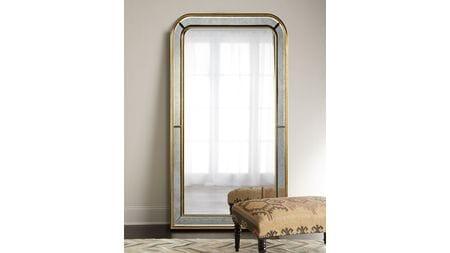 Напольное зеркало Вустер gold