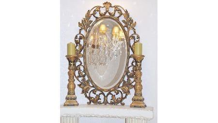 Зеркало Гойя 19C. Gold