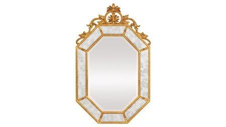 Зеркало в раме Лидс 19C. Gold/02