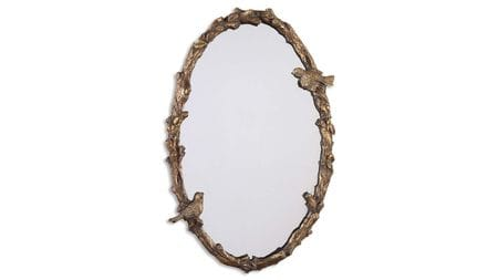 Зеркало в раме Долорес 14C. Gold/24