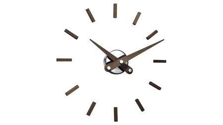 Часы Nomon PUNTOS SUSPENSIVOS 12N walnut, d=50см