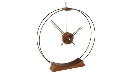 Часы Nomon Aire, walnut, D=50,4 см, H= 56,7 см