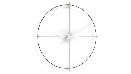 Часы Nomon BILBAO L(black/white), d=110см