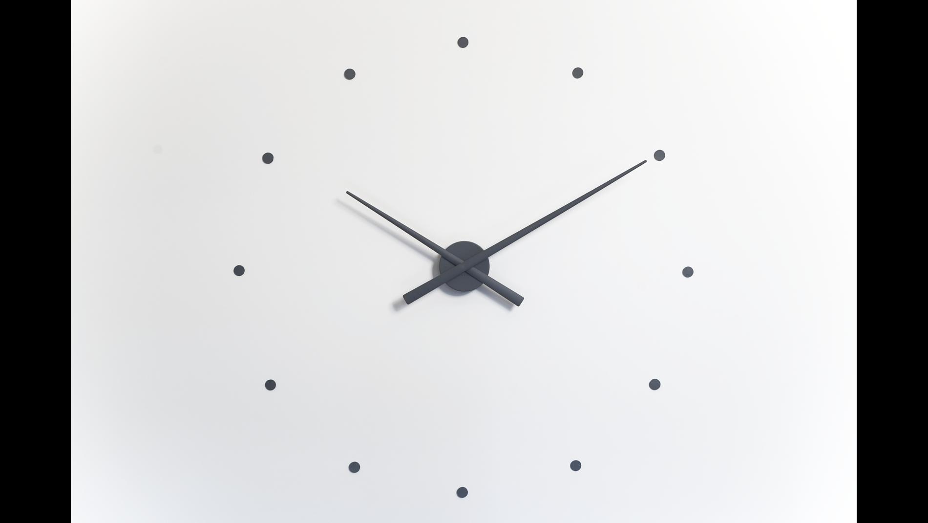 Часы Nomon OJ mini GRAY, d=50см