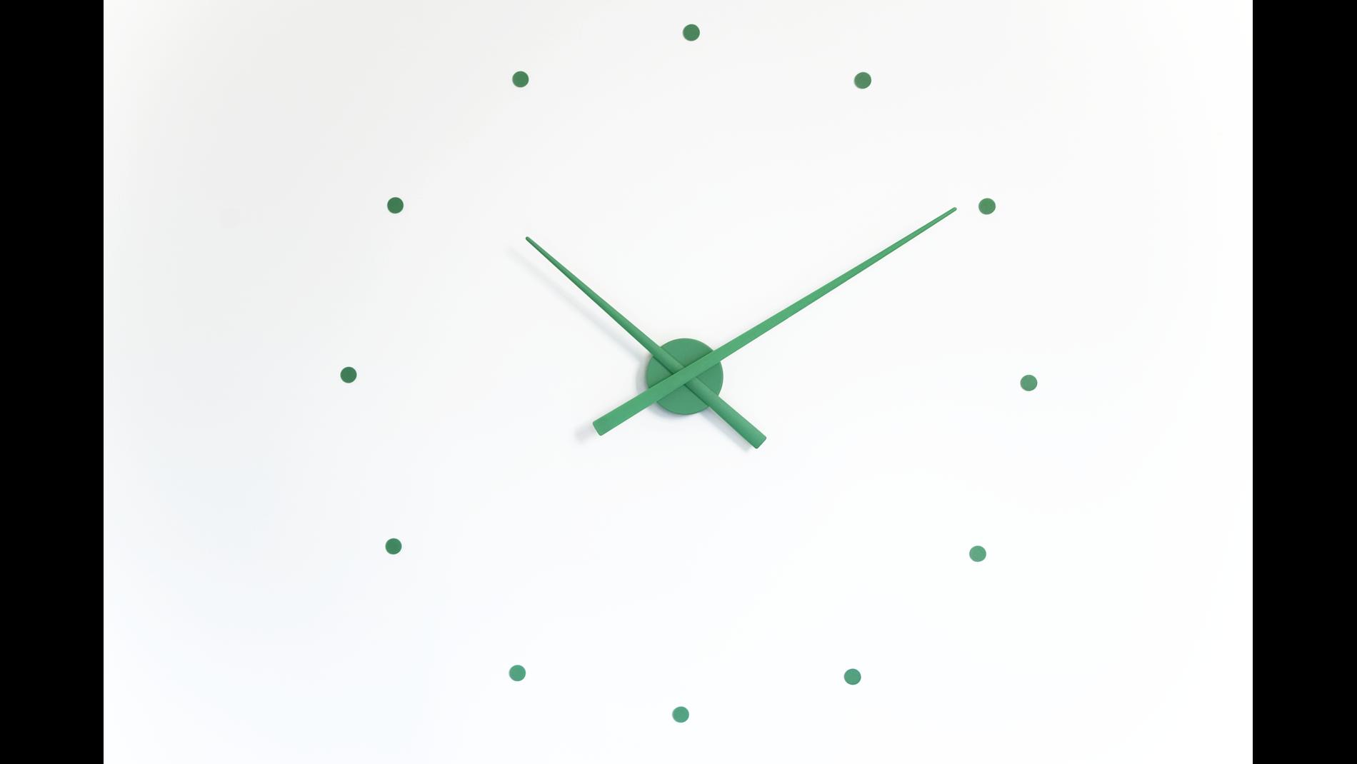 Часы Nomon OJ mini GREEN, d=50см