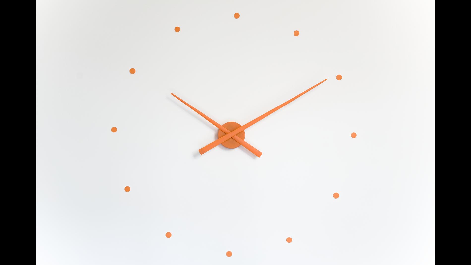 Часы Nomon OJ ORANGE, d=80см