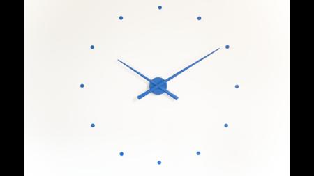 Часы Nomon OJ BLUE, d=80см