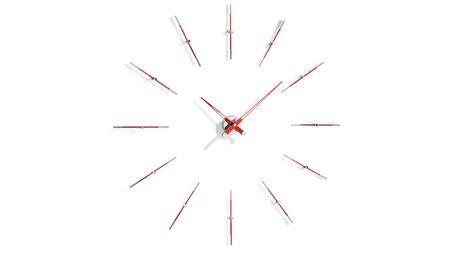 Часы Nomon Merlin 12 i RED, d=110cm