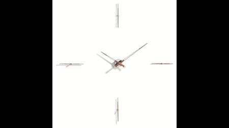 Часы Nomon MERLIN 4 N 125 WALNUT/CHROME, d=125см