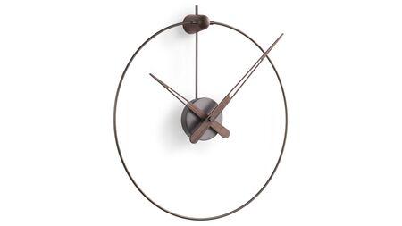Часы Nomon Micro Anda Graphite, graphite/walnut, d=40/50 см