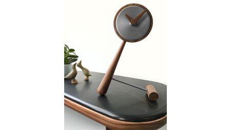 Часы Nomon Puntero Mini Graphite, графит /дерево