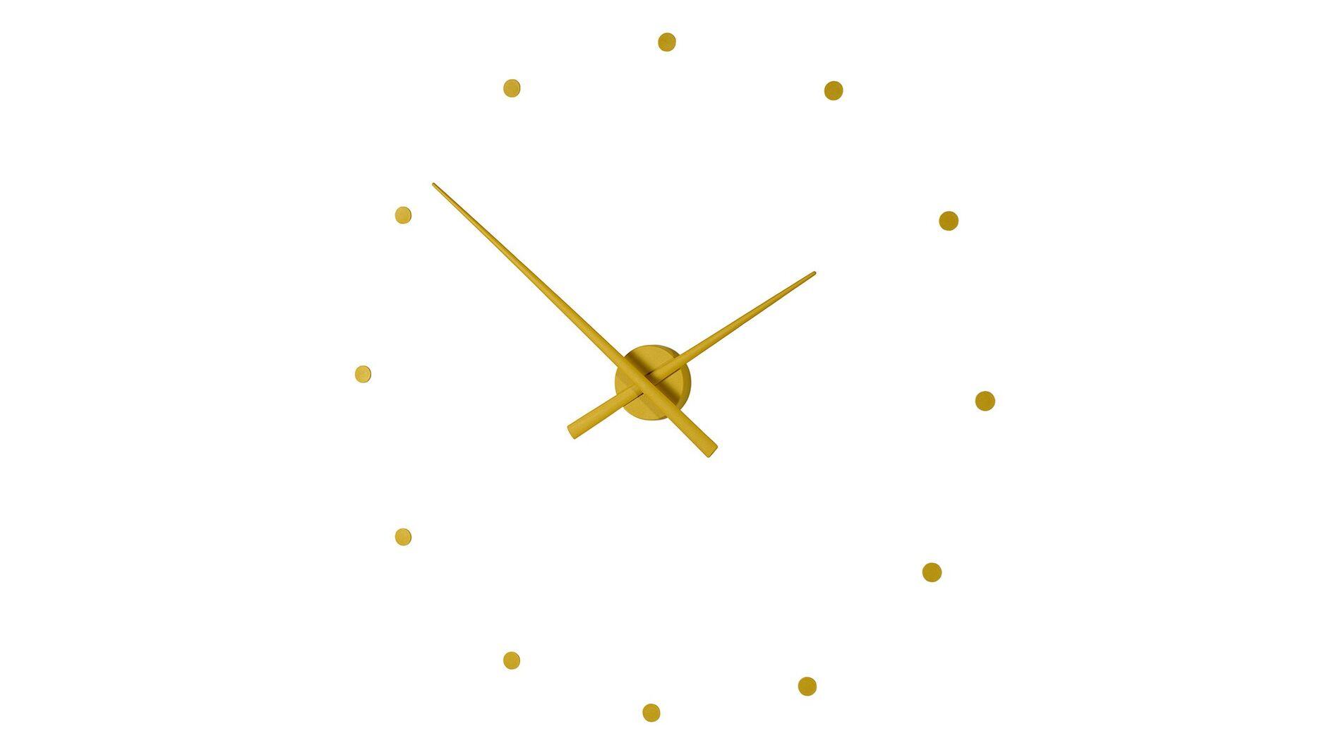 "Часы Nomon OJ mini MUSTARD(""горчичный"" цвет), d=50см"