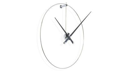 Часы Nomon New Anda, chrome/black, d=100 см