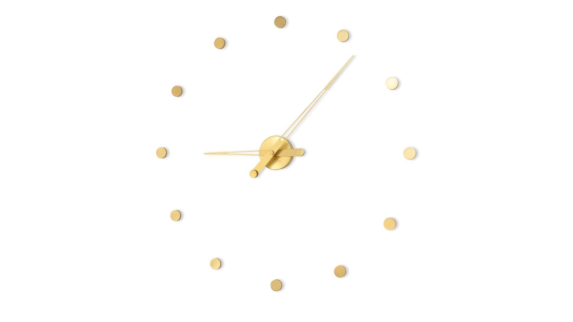 Часы Nomon Rodon 12 GOLD, полированная латунь, d=70 см