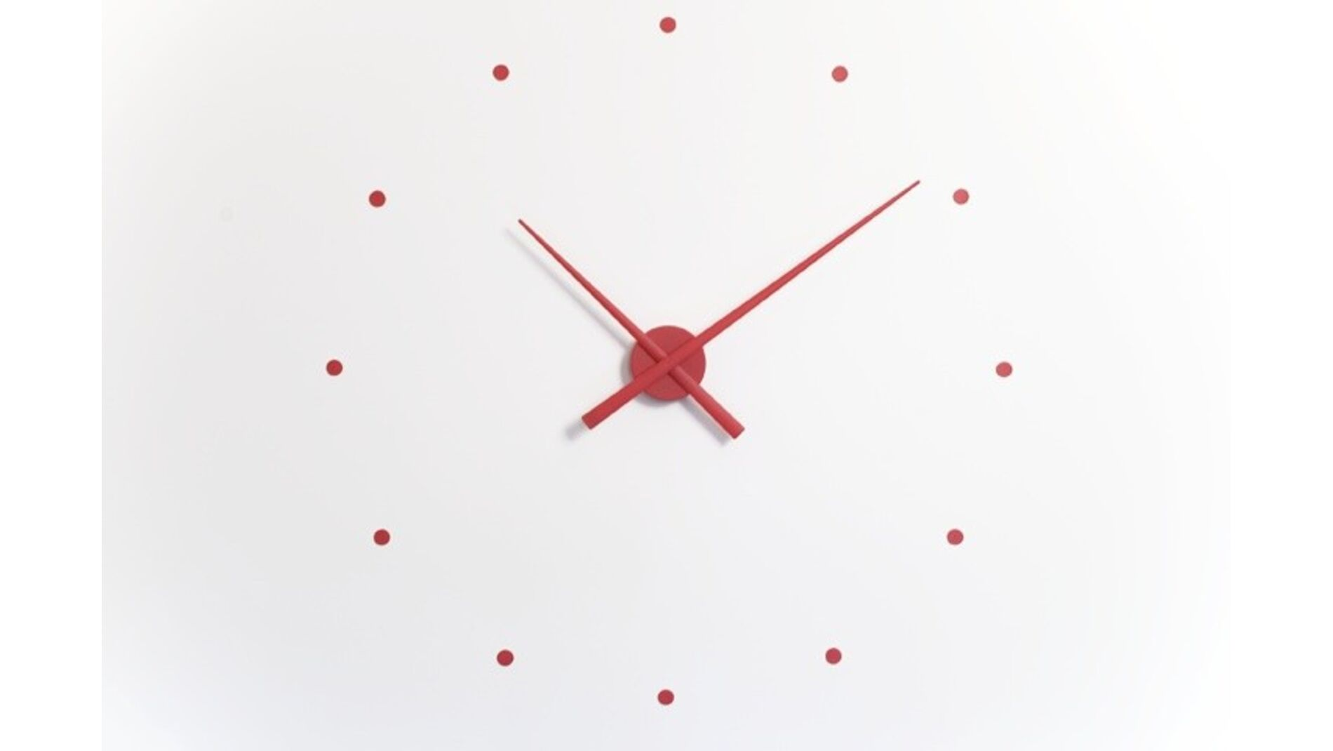 Часы Nomon OJ RED, d=80см