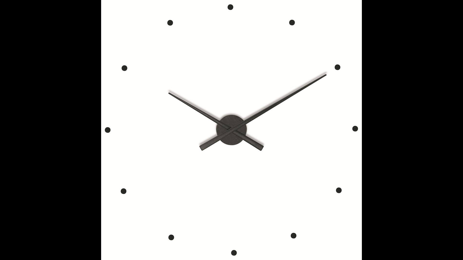 Часы Nomon OJ BLACK, d=80см
