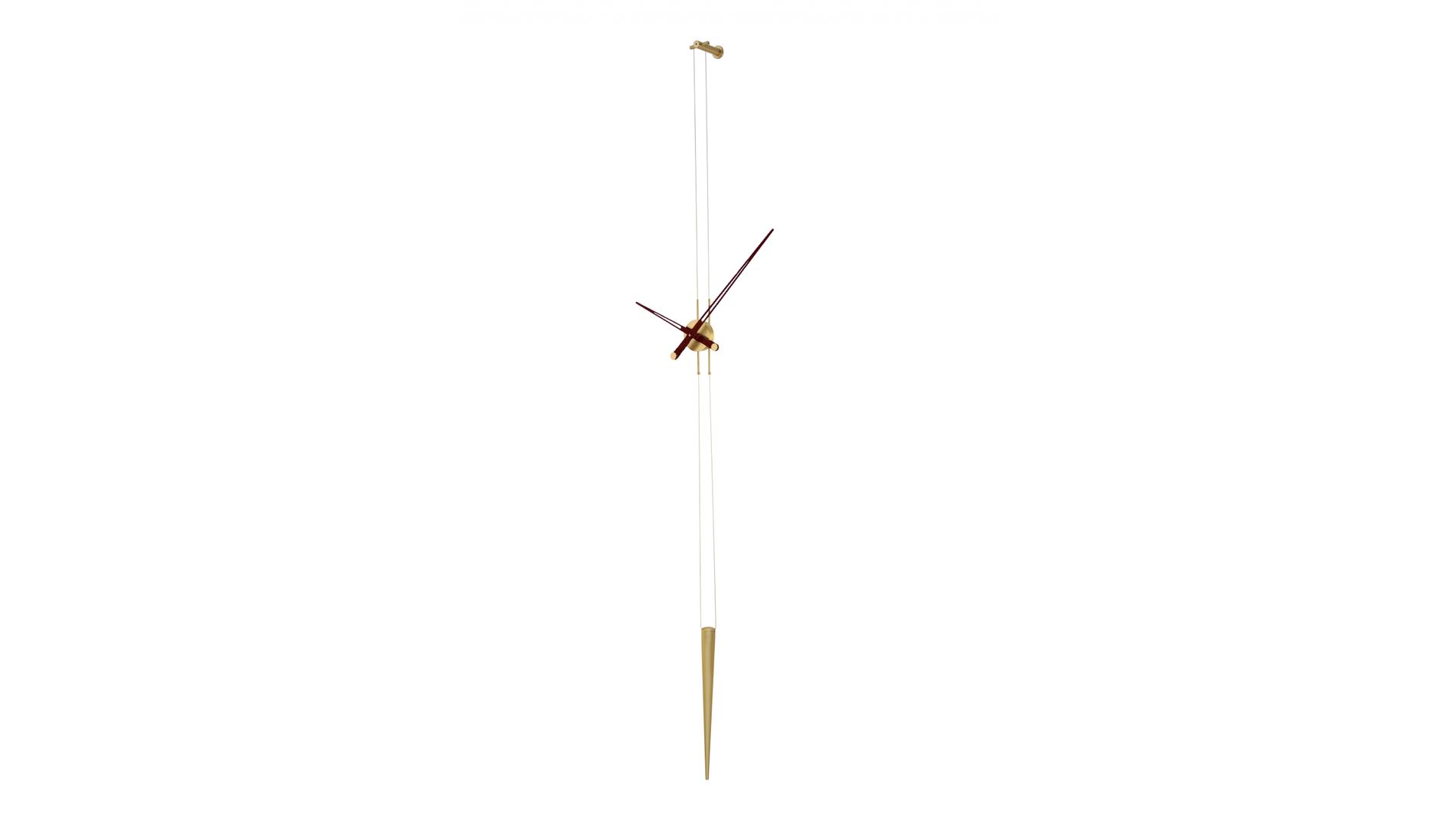 Часы Nomon PENDULO GOLD N WENGE, d=60 cm.