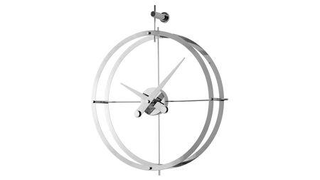 Часы Nomon 2 PUNTOS i(DOS PUNTOS), d=55см, chrome