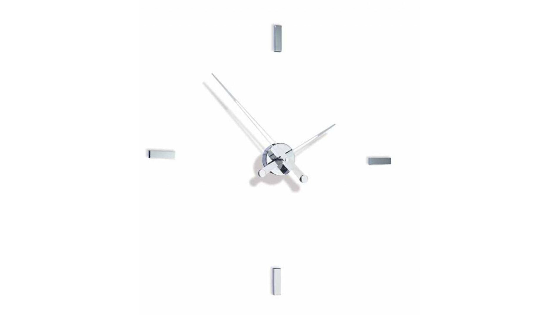 Часы Nomon Tacon 4i хром.сталь, d=74см