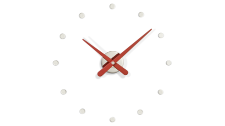 Часы Nomon RODON MINI L RED, d=50см