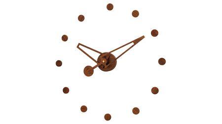 Часы Nomon Rodon N, walnut, d=70 см